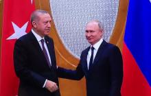 Эрдоган отплатил Путину той же монетой: видео конфуза главы России появилось в Сети