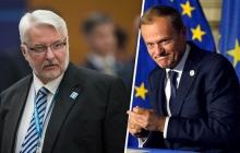 """Глава МИД Польши жестко ответил Туску на """"след Кремля"""" в правительстве Варшавы – Ващиковский раскритиковал лидера ЕС по вопросам Украины и Brexit"""