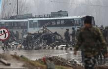 В Индии террористы подорвали грузовик: есть погибшие
