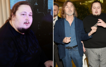 Сын Никаса Сафронова Лука застрял в туалете самолета: вызволяли всем экипажем - видео