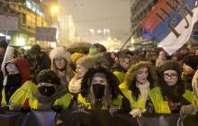 Громкие митинги в Сербии: тысячи людей вышли на улицы, требуя отставки пророссийского президента Вучича, - кадры