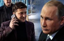 В Кремле ответили Зеленскому на желание договориться с Путиным о Крыме и Донбассе