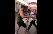 Националисты в ответ на нападение побили сторонников Шария в Киеве: опубликовано видео драки в метро