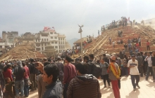 Жизнь в Непале после землетрясения. ФОТО