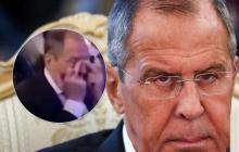 Лавров заплакал в Израиле: российского министра довели до слез в прямом эфире - видео