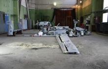 СБУ опубликовала фото сбитого в Песках беспилотника