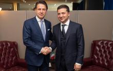 Зеленский позвал в Украину итальянских инвесторов и сверил позиции по санкциям против России