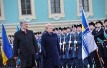 Украина и Литва единым фронтом выступят против российского агрессора - подробности