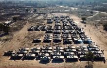 Боевая мощь армии в действии: механизированная бригада ВСУ выдвинулась в полном составе, кадры