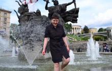 Надежда Савченко удивила всех своим нарядом на Дне рождения Гордона