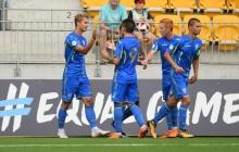 В двух шагах от чемпионства: молодежная сборная Украины разгромила Турцию и вышла в полуфинал ЧЕ