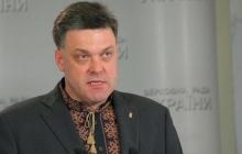 """СМИ опубликовали ВИДЕО с Тягнибоком, который агрессивно бросался на силовиков под Радой: """"Ты что делаешь, урод?"""""""