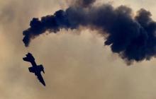 Российский учебно-боевой самолет Aero L-39 Albatros рухнул в Краснодарском крае, судьба экипажа неизвестна