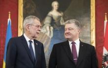 """Порошенко в Австрии заявил, что Украина """"эффективно справилась"""" с проблемой вынужденных переселенцев"""