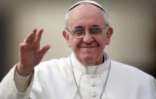 """Папа Римский назвал """"позитивным шагом"""" разработку закона об особом статусе Донбасса"""