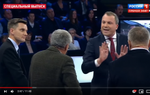 """""""Россия пятый год ведет войну на Донбассе"""", - на росТВ скандал в прямом эфире из-за неудобной правды по Украине"""