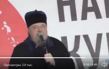 Видео, как Чаплин в Москве призывает россиян захватить Киев: спустя ровно год он умер