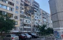 Взрыв в Киеве разрушил четыре этажа дома: появилось видео первых минут после ЧП