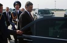 Петр Порошенко встретился в Минске с Эштон