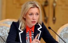 Захарова бросилась защищать Путина, обвинив обматерившего его журналиста в работе на Саакашвили