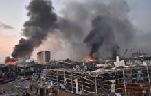 """Президент Ливана Мишель Аун назвал новые версии взрыв в Бейруте: """"Ракета, бомба или что-то другое"""""""