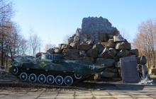 В оккупированном Хрустальном на Луганщине подпольщики написали послание Путину