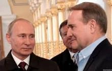 """""""Медведчук и Путин все время находятся в самом тесном и личном контакте"""", - Песков проговорился о куме босса"""