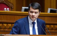 Разумков пояснил, почему Украина не делает официальных заявлений по протестам в Беларуси