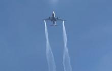 """""""Глаза съедало"""", - в США самолет скинул топливо над территорией школы, пострадали люди"""