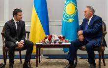Зеленский раскрыл детали встречи с Назарбаевым, где обсуждался вопрос Донбасса