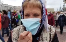 """Пенсионерка из Беларуси прямо обратилась к силовикам Лукашенко: """"Я имею на это право"""""""