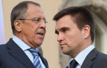 """Климкин подтвердил стычку с Лавровым в Мюнхене: """"Кинул, но не в лицо"""""""
