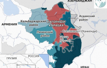 """Карабах окончательно отделен от Армении и """"висит"""" на тонкой нитке - все скоро закончится"""