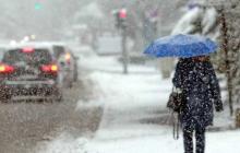 На Украину движется снежная буря: какие регионы под ударом - прогноз
