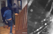 Британец голыми руками отбил свое жилище от банды грабителей - видео