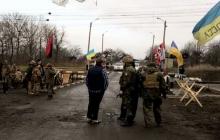 Конфликт блокадников с подвыпившими местными жителями закончился госпитализацией