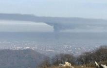 """Над Владикавказом """"ядовитое облако"""" из-за токсичного пожара на """"Электроцинке"""": жители бегут в панике"""