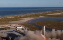 SpaceX Илона Маска показала успешное испытание корабля для полетов на Луну и Марс