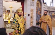 Верующие в Киеве мощно аплодировали митрополиту Драбинко, перешедшему в УПЦ, - видео