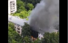 В Москве в результате взрыва горят квартиры в пятиэтажке: есть погибшие и пострадавшие