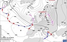 Дожди, морозы до -10 и масса снега: Украину накроет мощный циклон Marielou - прогноз погоды на выходные