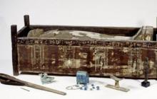 Ученые раскрыли тайну черного саркофага трех мумий из Египта