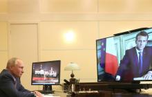 """Путин позвонил Макрону и выдвинул одно требование по Донбассу: """"Альтернативы нет"""""""