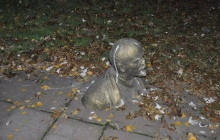 В Запорожье снесли очередной памятник Ленину