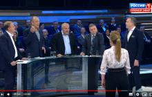 В России возмущены обидным прозвищем, которое дали россиянам в Украине: видео скандала на россТВ в Москве
