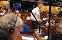 Видео выступления украинцев в ПАСЕ бьет рекорды: одно из самых жестких за всю историю организации