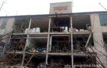 На Донбассе взорвался завод: есть жертва, снесло полностью стену - кадры