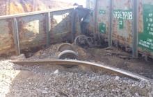 ЧП в Днепре: из-за украденных болтов и креплений железной дороги сошел с рельсов поезд - подробности