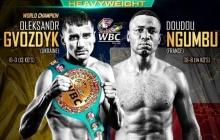 Гвоздик - Нгумбу: онлайн-трансляция долгожданного боя за пояс чемпиона WBC