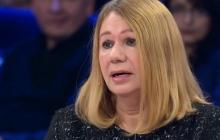В Киеве произошла стычка между националистами и Бережной: она обвинила лидера С14 Карася в убийстве дочери